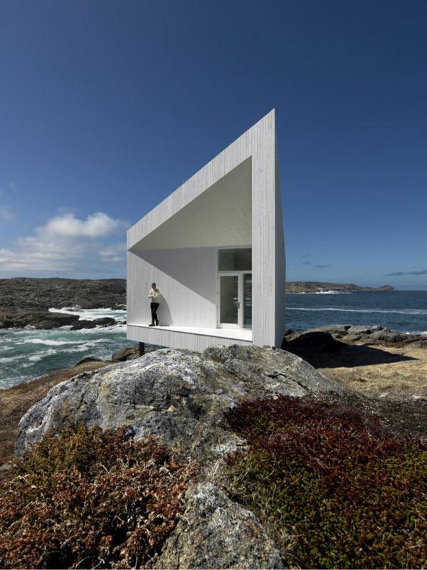 частный дом по проекту Todd Saunders