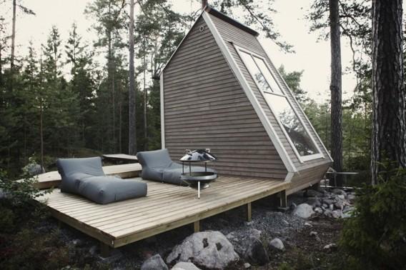 Миниатюрный дом по проекту Robin Falck