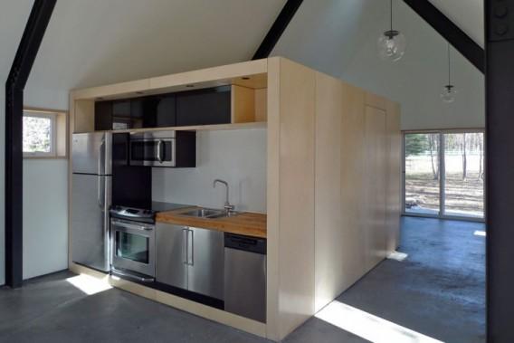 кухня в загородном доме от Bioi