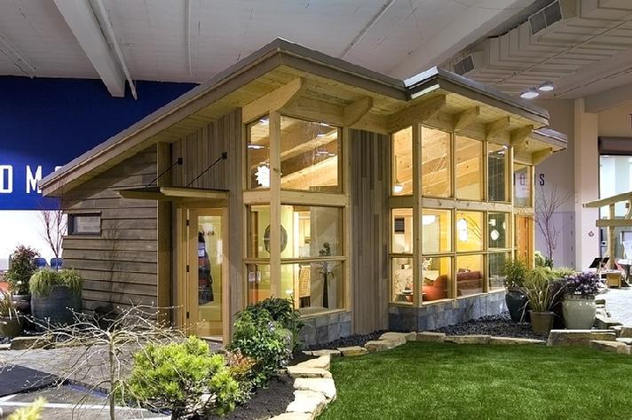 Дом с деревянным каркасом фото 1