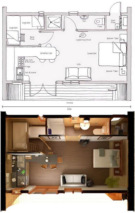 Изящный модульный быстровозводимый дом фото 2