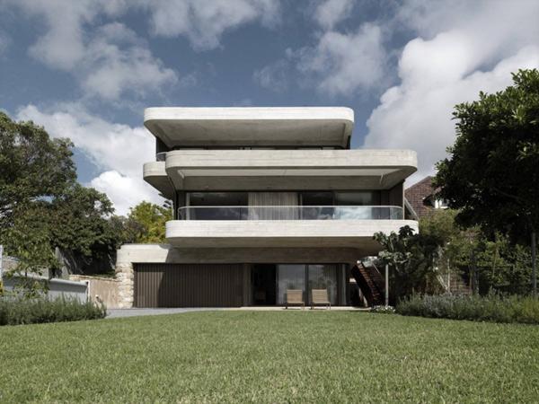 Дом из стекла и бетона фото 1