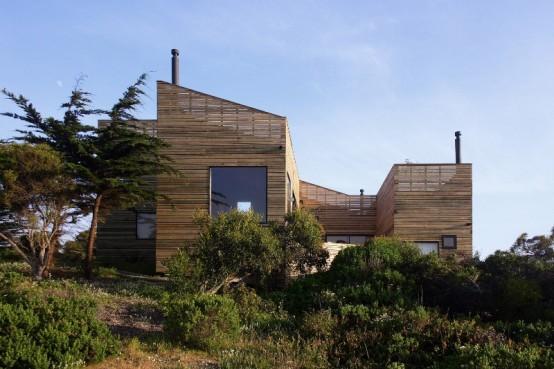 загородный дом крепость фото 2