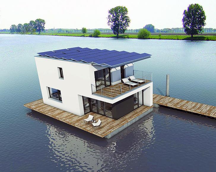 Плавающий дом фото фото 7