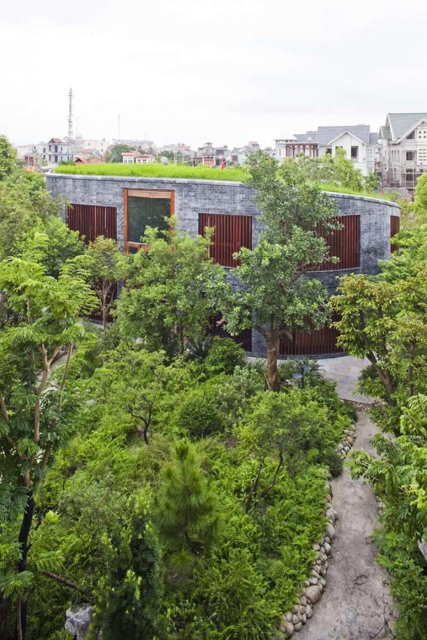 проект дома  Torus House