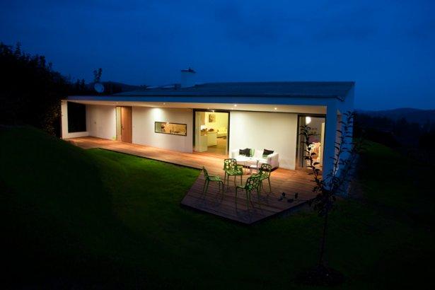 проект дома на склоне холма - Villa 3S