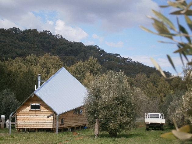 дачный дом под тентом фото 2
