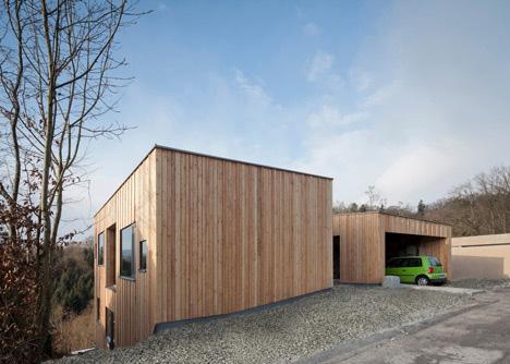 загородные дома-близнецы по проекту Destilat