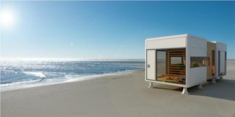 Модульный дом со сглаженными углами фото 1