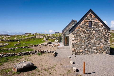 Ультрамодные каменные дома фото 3