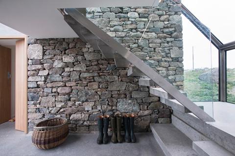 Ультрамодные каменные коттеджи