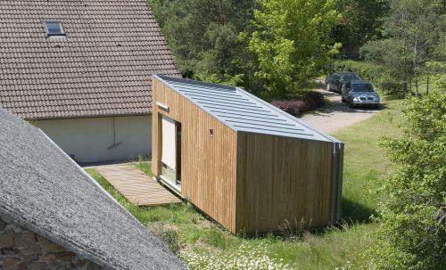 частный минималистичный дом