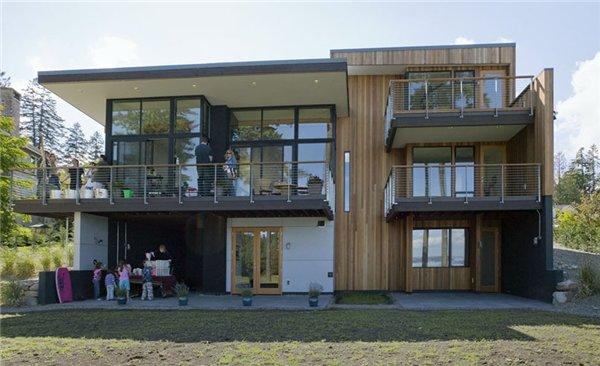 частный  дом на острове Байнбридж