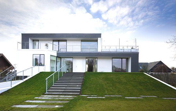 красивый трехуровневый дом Z House по проекту Евы Харлоу