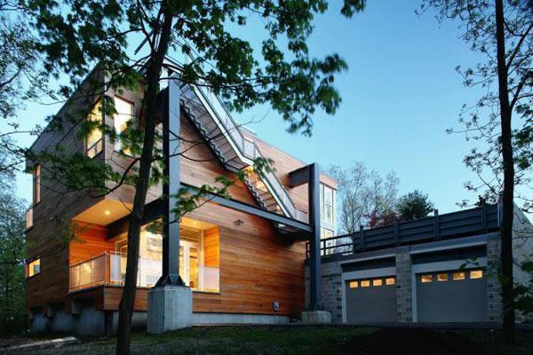 Великолепная вилла из материалов вторичной переработки по проекту SsD Architects