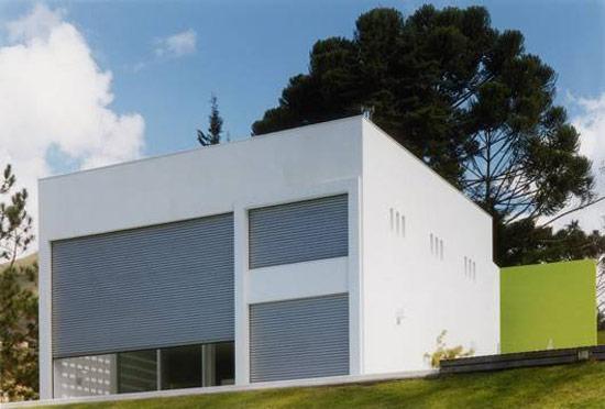 фото кубического дома от Жозе Коса