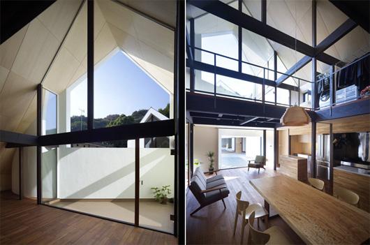 Двухэтажный дом по проекту Акио Накаса (Naf Architect & Design)