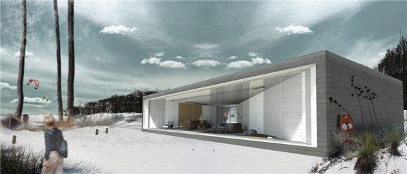 фото каркасного дома H3AR