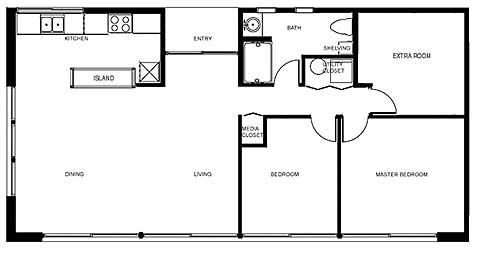 Модульный дом - проект Luminhaus