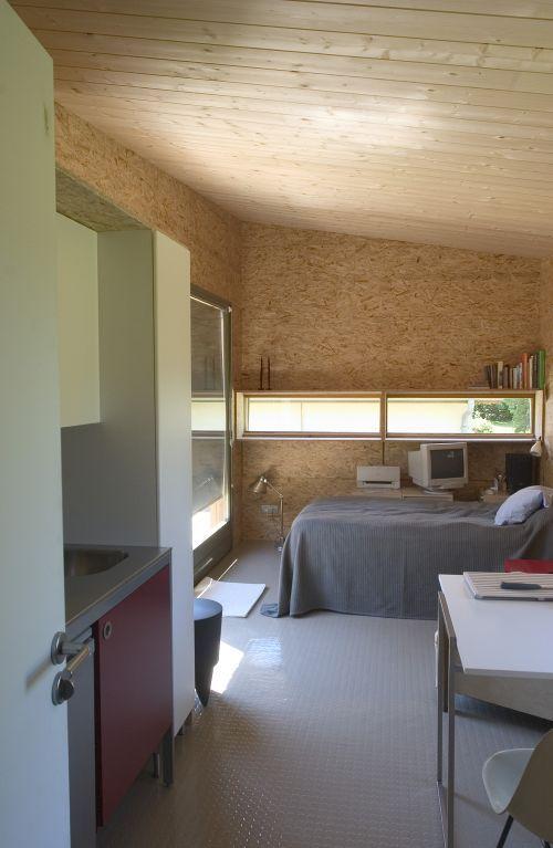Минималистичный дом внутри
