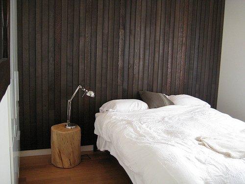 Живописный сборный дом - спальня