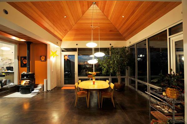 Дом ранчо - столовая