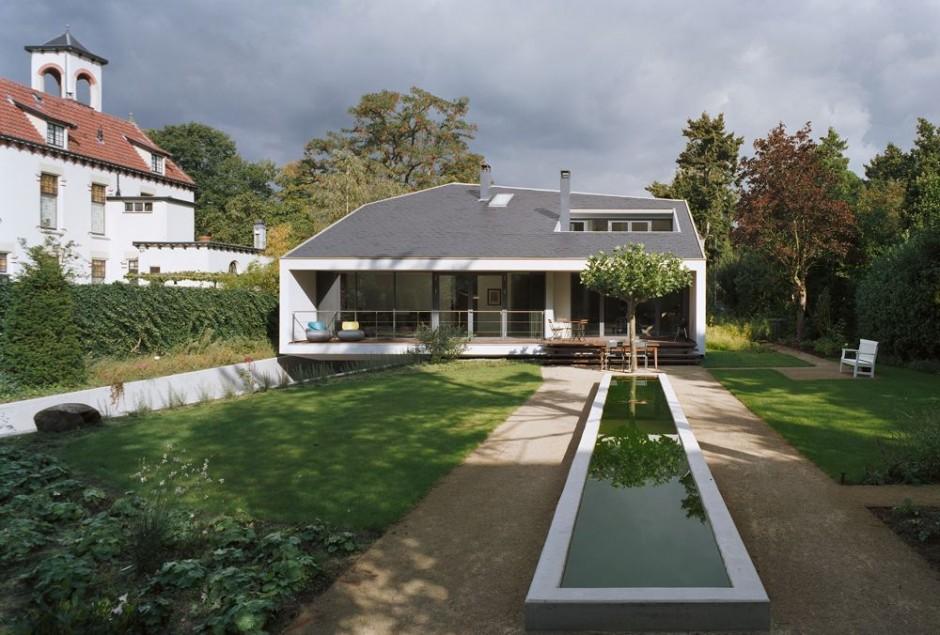 загородный дом в Буссуме по проекту GROUP A