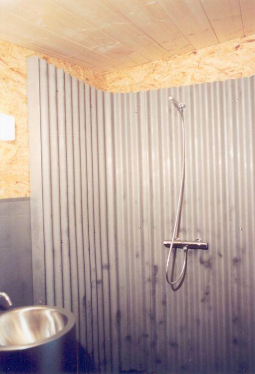 Минималистичный дом - душ