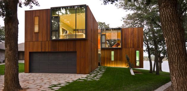 загородный дом у озера Окободжи  по проекту Min|Day Architects