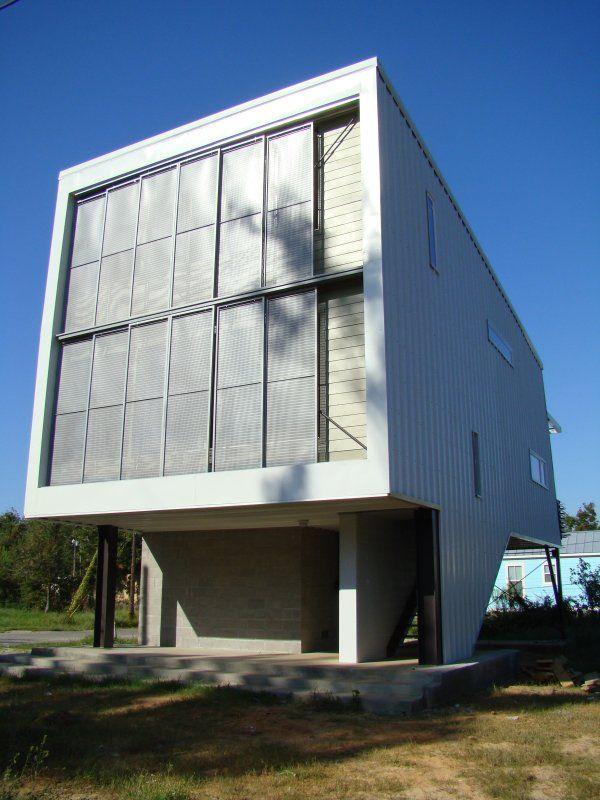 фото дома в Байлокси по проекту Марлона Блэквелла