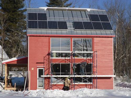 экологичный дом по проекту G*O Logic