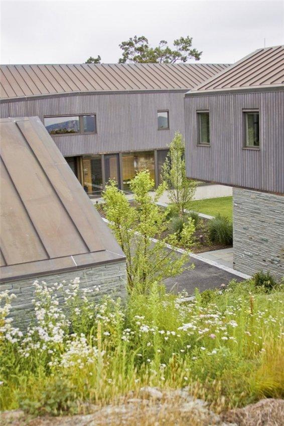 Проект загородного дома Блю Рок