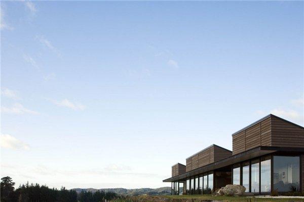 Новый красивый дом от студии Джона Ирвинга