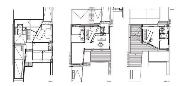 проект трехуровневый дом