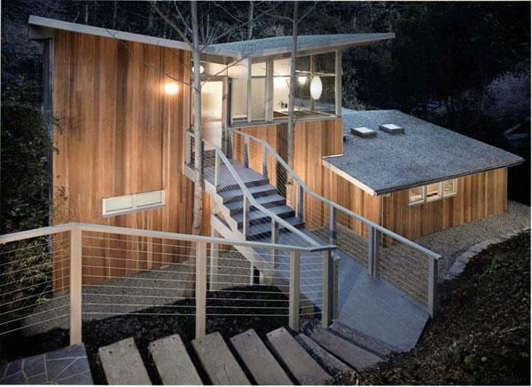 частный уютный семейный дом по проекту Core Buckner Architects