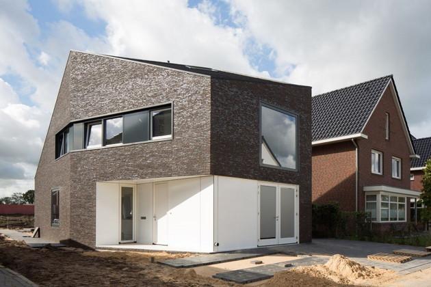 Частный загородный  дом Van Leeuwen House