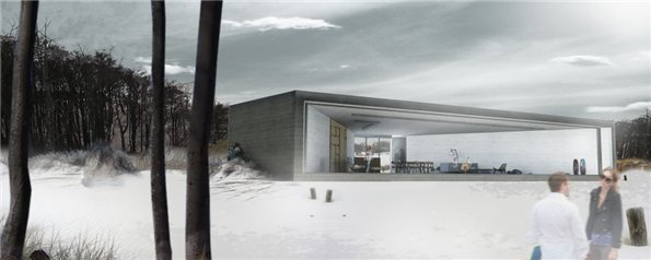 Каркасный дом H3AR