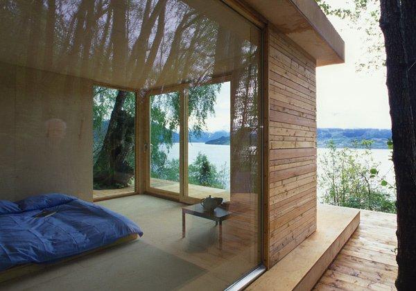 фото дома на озере