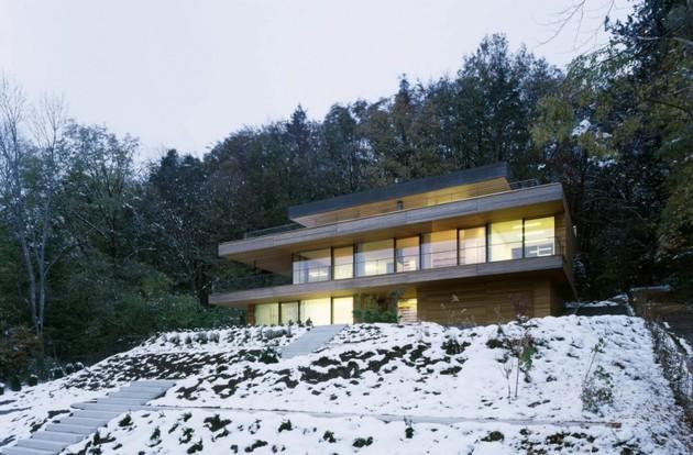 фото дома в коттеджном стиле
