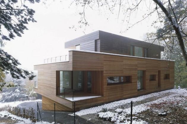 свой дом в коттеджном стиле по проекту k_m architektur
