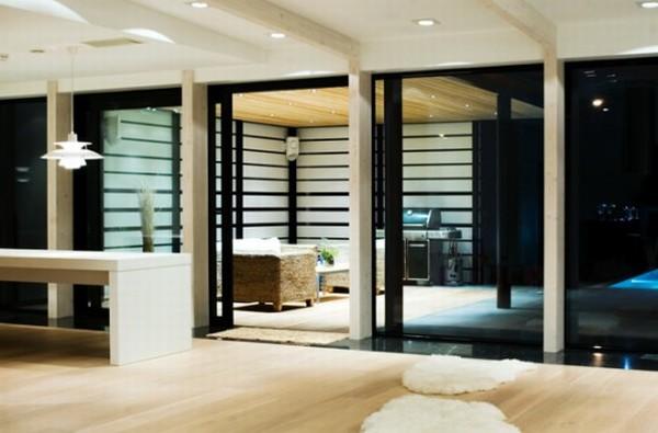 Оригинальный дизайн: пристройка к дому в Суурупи по проекту Arhitektid Muru&Pere
