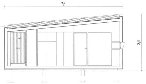 Минималистичный дом - проект