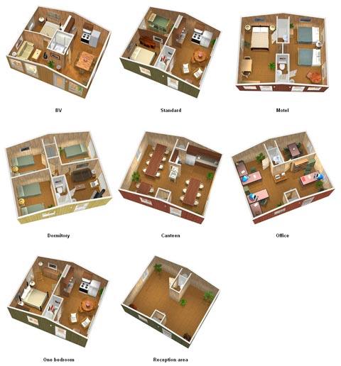проект - сборный дом Habitaflex