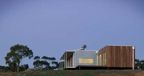 загородный модульный дом Modscape
