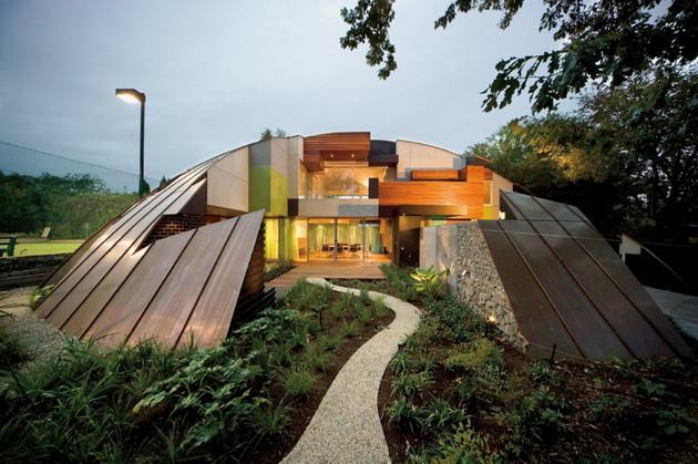Куполообразный дом фото 1