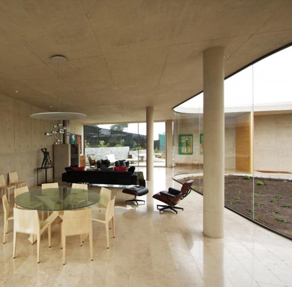 О-образный дом фото 3