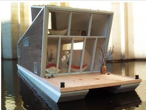 проект плавучего дома
