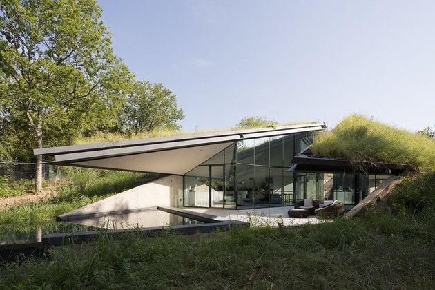 загородный разделенный дом фото 2
