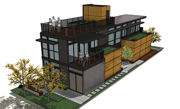 симпатичный дом проект