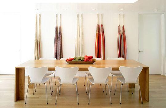 Узкий дом - столовая